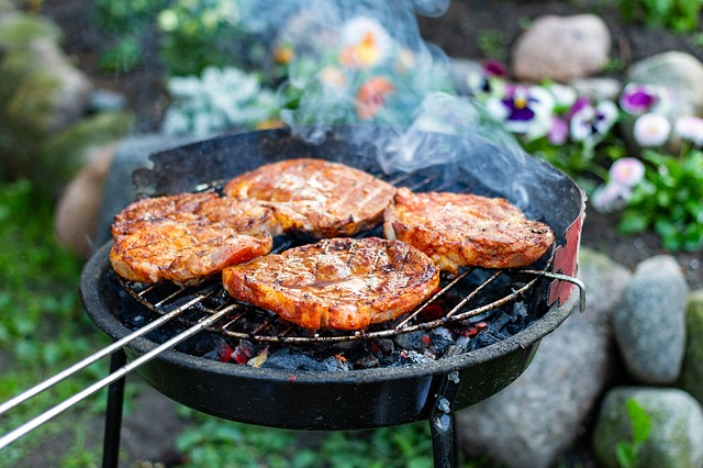 why don't gas grills use lava rocks anymore